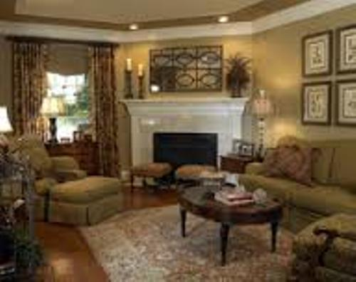 How to arrange furniture around a corner fireplace 5 tips for Living room furniture arrangement corner fireplace