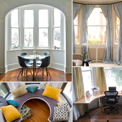How To Arrange Furniture Around A Bay Window: 5 Ideas : Home Improvement Day