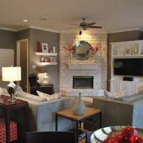 how to arrange furniture around a corner fireplace 5 tips