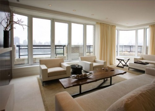 Large Living Room Windows : How To Arrange Furniture In A Living Room With Large ...