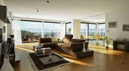 How to Arrange Furniture in a Living Room With Large Windows Modern