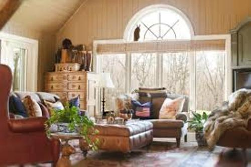 How to Arrange Furniture in a Living Room With Large Windows Pic
