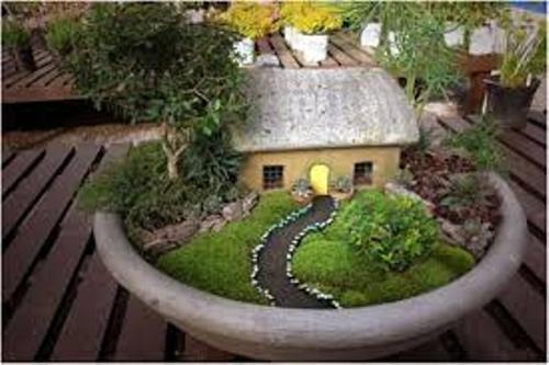 How to Arrange Outdoor Flower Pots  Miniature