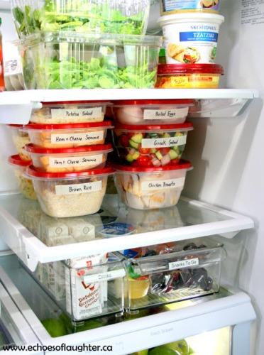 How to Arrange Refrigerator Shelves Pictures