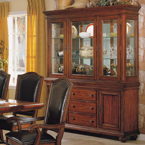 hutch dining room | How To Arrange A Dining Room Hutch: 4 Tips | Home ...