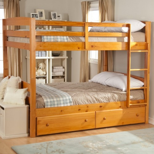 How to arrange a small bedroom with a bunk bed 5 tips for Small bunk beds
