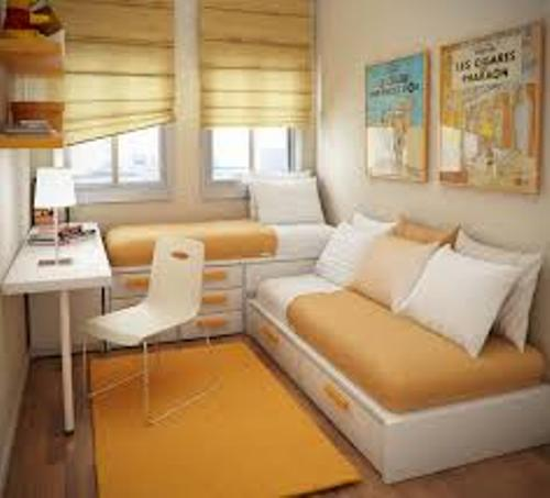 How to Arrange a Small Bedroom with a Bunk Bed Pic