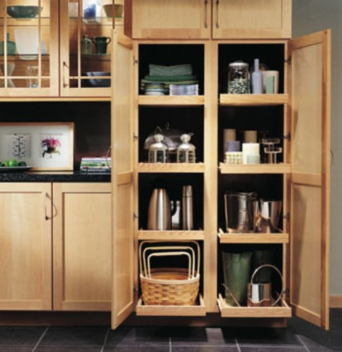 Kitchen Cabinet Contents Pic