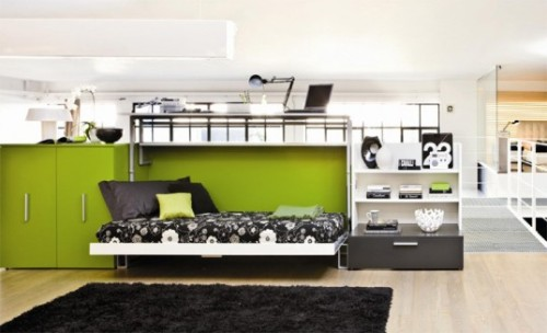 arrange furniture in a small apartment