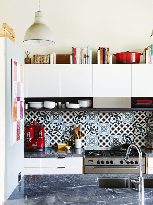 decorate-above-kitchen-cabinets-with-cookbook