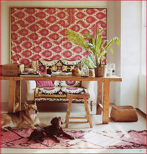 wall-with-fabric