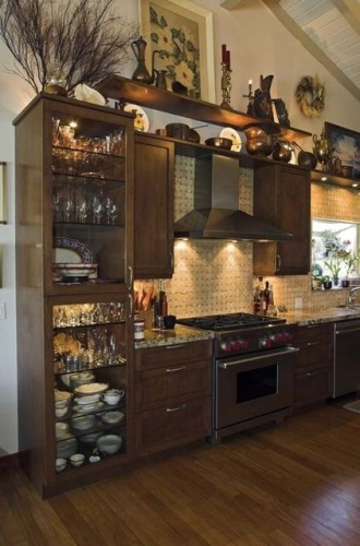 Above Kitchen Cabinet Design