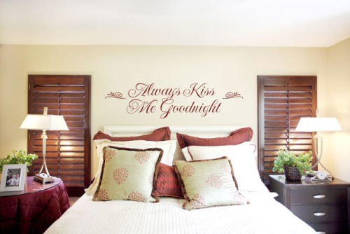 Bedroom Walls with Picture
