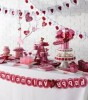 5 Ways to Create Inexpensive Valentine's Day Table Decorations