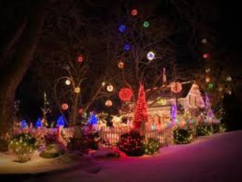 Christmas Lights Colors