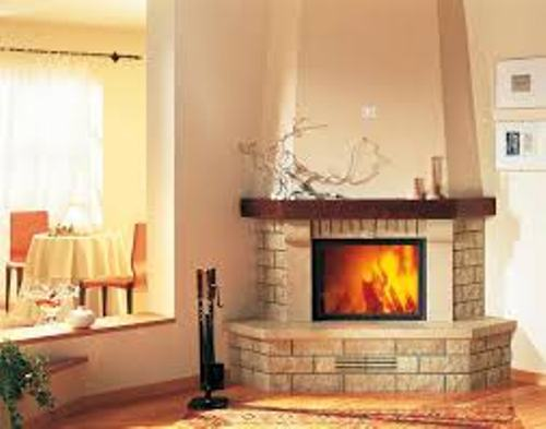 Enchanting Corner Fireplace Mante