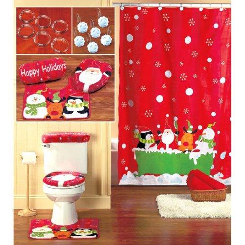 Festive Bathroom for Christmas