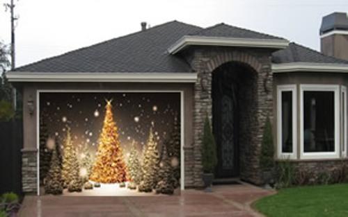 Garage Door for Christmas Ideas