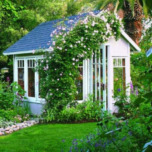 Garden Shed Beauty