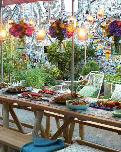 Garden for Birthday Party Ideas