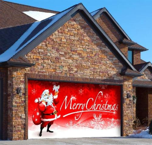 How to Decorate Your Garage Door for Christmas