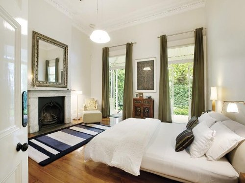 How to Decorate a Bedroom Fireplace Mantel