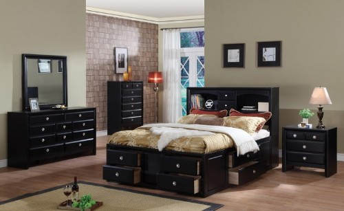 how to decorate a bedroom with black furniture step 5 black wardrobes