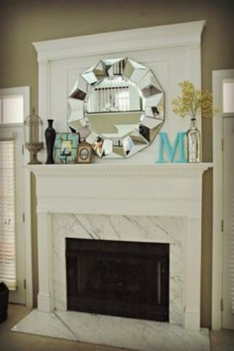 How To Decorate A Fireplace Mantel With A Mirror 5 Ways Home Improvement Day