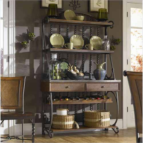 How To Decorate A Kitchen Bakers Rack 5 Tips Do Home