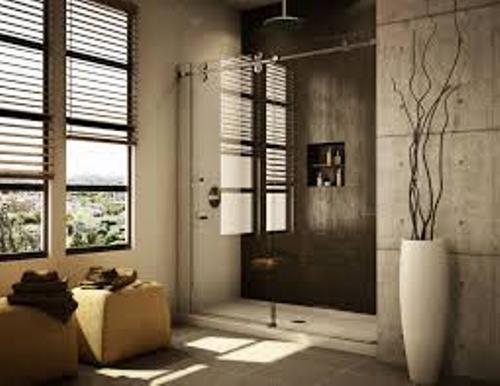 Shower Door Decor