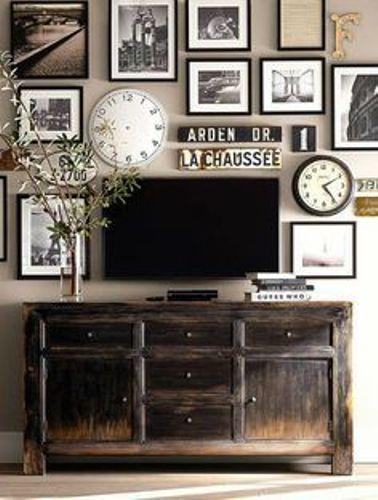 TV Armoire Decor