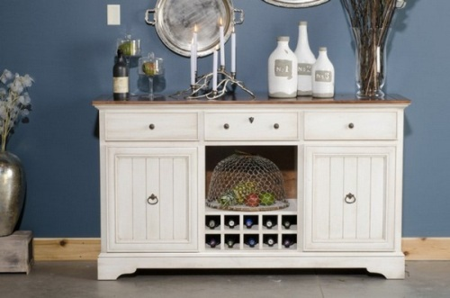 How To Decorate A Kitchen Buffet: 5 Ideas For Ornamental