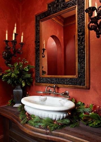 Bathroom Mirrors for Christmas