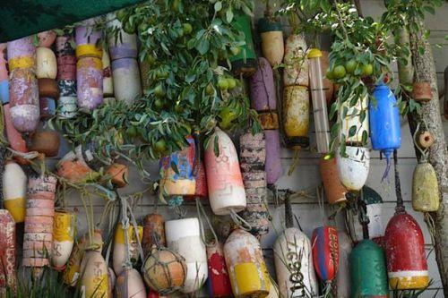 Creative Garden with Pots