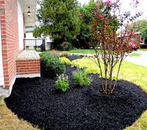 How to decorate garden with mulch 5 ways for unique flower bed home improvement day - Flower and lawn landscaping ideas ...