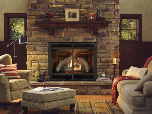 How to arrange living room around fireplace 5 tips for for Living room arrangements with fireplace