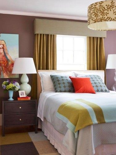 How to Decorate a Bedroom with a Window Behind the Bed
