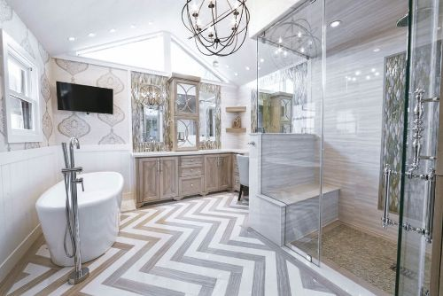 How to Decorate a Large Bathroom