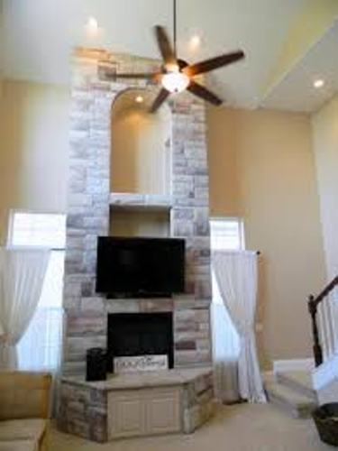How to Decorate an Ugly Fireplace Mantel