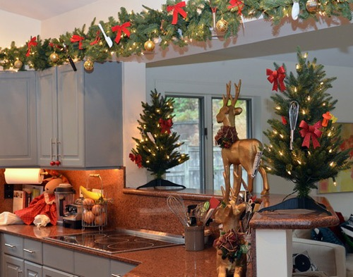 Kitchen Cupboards for Christmas