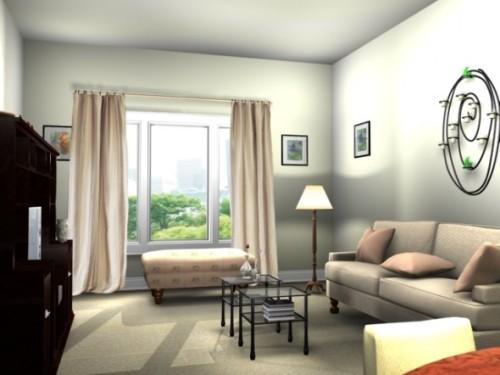 Living Room Apartment Designs