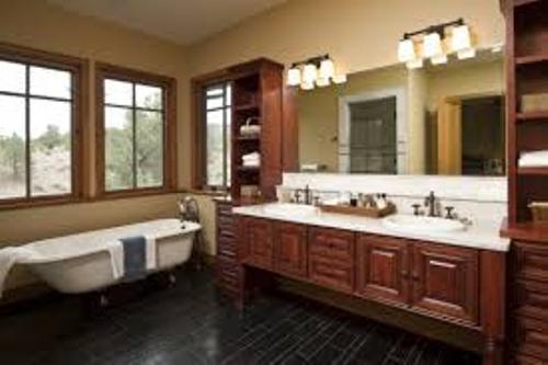 Long Narrow Bathroom Decor
