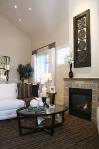 Narrow Fireplace Mantel Pictures