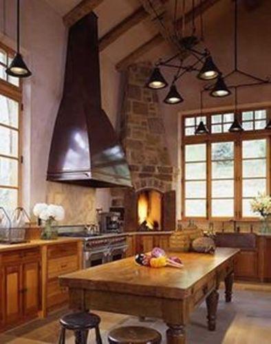 Natural Stone Kitchen Fireplace Mantel