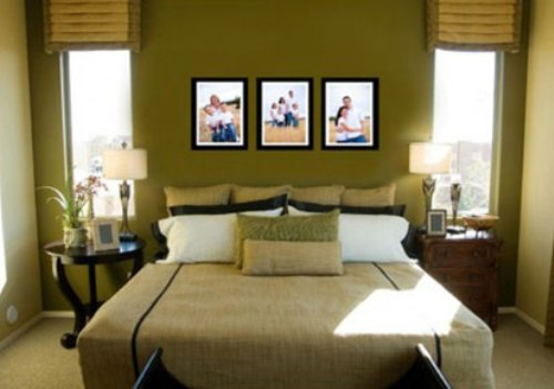 How to arrange a small bedroom with two windows 5 ideas for How to decorate a big bedroom