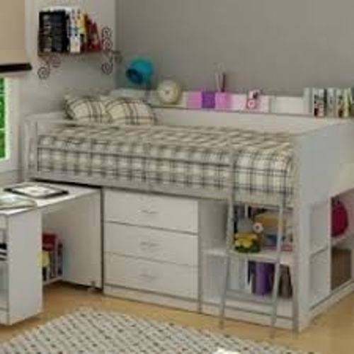 Small Bedroom with a Bunk Bed Design
