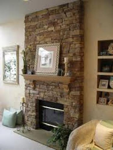 Stone Fireplace Mantel Design