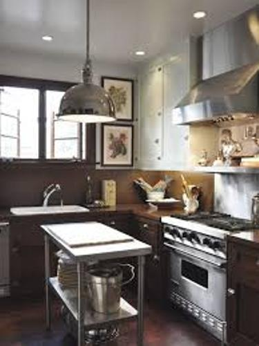 stylish kitchen platform
