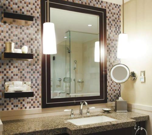 Bathroom Backsplash Pic