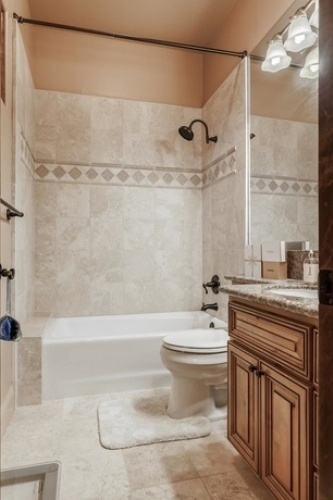Bathroom Below Grade Design